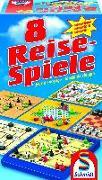 Cover-Bild zu 8 Reise-Spiele, magnetisch