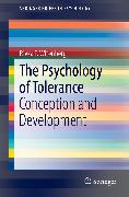 Cover-Bild zu eBook The Psychology of Tolerance