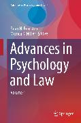 Cover-Bild zu eBook Advances in Psychology and Law