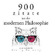 Cover-Bild zu Kant, Immanuel: 900 Zitate aus der modernen Philosophie (Audio Download)