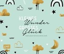 Cover-Bild zu Kleines Wunder, großes Glück - Babyalbum für dein erstes Jahr (Handlettering)