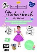 Cover-Bild zu Bullet Journal - Stickerbuch - Be creative