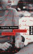 Cover-Bild zu Bachmann, Ingeborg: Kritische Schriften