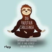 Cover-Bild zu riva Verlag: Die Faultier-Challenge