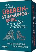 Cover-Bild zu riva Verlag: Das Übereinstimmungsspiel für Paare