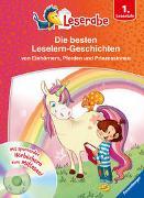 Cover-Bild zu Neubauer, Annette: Die besten Leselern-Geschichten von Einhörnern, Pferden und Prinzessinnen - Leserabe 1. Klasse - Erstlesebuch für Kinder ab 6 Jahren