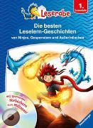 Cover-Bild zu Neubauer, Annette: Die besten Leselern-Geschichten von Ninjas, Gespenstern und Außerirdischen - Leserabe 1. Klasse - Erstlesebuch für Kinder ab 6 Jahren