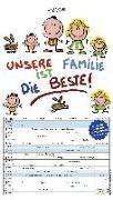 Cover-Bild zu Holzach, Alexander (Illustr.): Unsere Familie ist die beste! 2022