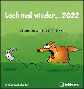 Cover-Bild zu Holzach, Alexander: Lach mal wieder... 2022 - Postkarten-Kalender - Kalender-mit-Postkarten - zum-raustrennen - 16x17