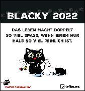 Cover-Bild zu Holzach, Alexander: Blacky 2022 - Postkarten-Kalender - Kalender-mit-Postkarten - zum-raustrennen - 16x17