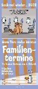 Cover-Bild zu Holzach, Alexander (Illustr.): Lach mal wieder... 2022 Familienplaner - Familienkalender - Wandkalender - 19,5x45