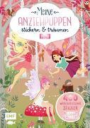 Cover-Bild zu Meine Anziehpuppen - stickern & träumen: Feen von Liepins, Carolin (Illustr.)