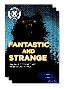 Cover-Bild zu Hulme-Cross, Ben: Project X Comprehension Express: Stage 3: Fantastic and Strange Pack of 15