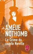 Cover-Bild zu Nothomb, Amélie: Le crime du comte Neville