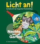 Cover-Bild zu Fuhr, Ute (Illustr.): Nachts im Garten