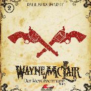 Cover-Bild zu Burghardt, Paul: Wayne McLair, Folge 1: Der Revolvermann, Pt. 1 (Audio Download)