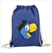 Cover-Bild zu Globi Sportbeutel dunkelblau mit Globi Kopf und Kordeln nature
