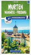 Cover-Bild zu Hallwag Kümmerly+Frey AG (Hrsg.): Murten 17 Wanderkarte 1:40 000 matt laminiert. 1:40'000