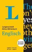Cover-Bild zu Langenscheidt Abitur-Wörterbuch Englisch - Buch und App von Langenscheidt, Redaktion (Hrsg.)