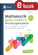 Cover-Bild zu Mathematik ganz einfach mit Lösungsbeispielen 5-6 (eBook) von Seifert, Hardy