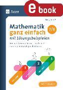 Cover-Bild zu Mathematik ganz einfach mit Lösungsbeispielen 7-8 (eBook) von Seifert, Hardy