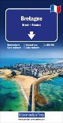 Cover-Bild zu Bretagne Regionalkarte. 1:175'000 von Hallwag Kümmerly+Frey AG (Hrsg.)
