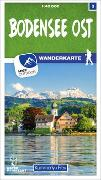 Cover-Bild zu Bodensee Ost 03 Wanderkarte 1:40 000 matt laminiert. 1:40'000 von Hallwag Kümmerly+Frey AG (Hrsg.)