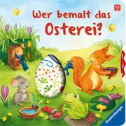 Cover-Bild zu Wer bemalt das Osterei? von Frank, Cornelia