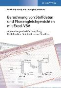 Cover-Bild zu Berechnung von Stoffdaten und Phasengleichgewichten mit Excel-VBA von Wang, Shichang