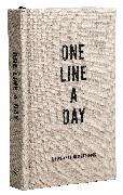 Cover-Bild zu Chronicle Books (Geschaffen): Canvas One Line a Day