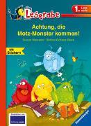 Cover-Bild zu Achtung, die Motz-Monster kommen! - Leserabe 1. Klasse - Erstlesebuch für Kinder ab 6 Jahren von Niessen, Susan