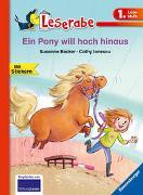 Cover-Bild zu Ein Pony will hoch hinaus (1. Klasse) Erstlesebuch für Kinder ab 6 Jahren von Becker, Susanne