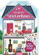 Cover-Bild zu Das große Stickerhaus von Wagner, Maja (Illustr.)