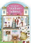 Cover-Bild zu Das große Stickerschloss von Wagner, Maja (Illustr.)