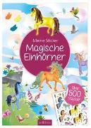 Cover-Bild zu Meine Sticker: Magische Einhörner von Wagner, Maja (Illustr.)