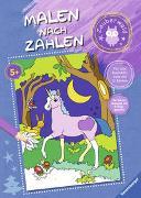 Cover-Bild zu Malen nach Zahlen ab 5 Jahren: Zauberwald von Wagner, Maja (Illustr.)