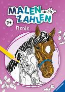 Cover-Bild zu Malen nach Zahlen ab 7 Jahren: Pferde von Wagner, Maja (Illustr.)