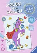 Cover-Bild zu Malen nach Zahlen: Pony-Prinzessin von Wagner, Maja (Illustr.)