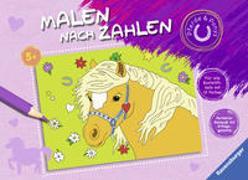 Cover-Bild zu Malen nach Zahlen ab 5 Jahren: Pferde und Ponys von Wagner, Maja (Illustr.)