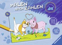 Cover-Bild zu Malen nach Zahlen ab 5 Jahren: Tierfreunde von Wagner, Maja (Illustr.)