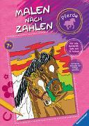 Cover-Bild zu Malen nach Zahlen: Pferde von Wagner, Maja (Illustr.)