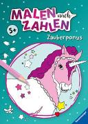 Cover-Bild zu Malen nach Zahlen ab 5 Jahren: Zauberponys von Wagner, Maja (Illustr.)