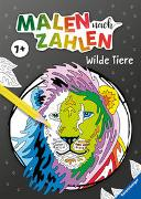 Cover-Bild zu Malen nach Zahlen ab 7 Jahren: Wilde Tiere von Wagner, Maja (Illustr.)
