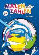 Cover-Bild zu Malen nach Zahlen ab 7 Jahren: Im Meer von Wagner, Maja (Illustr.)