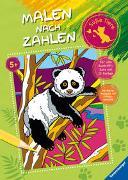 Cover-Bild zu Malen nach Zahlen ab 5 Jahren: Süße Tiere von Pahl, Simone (Illustr.)
