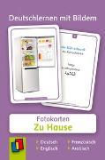 Cover-Bild zu Redaktionsteam Verlag an der Ruhr: Deutschlernen mit Bildern: Zu Hause