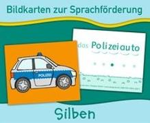 Cover-Bild zu Bildkarten zur Sprachförderung: Silben. Neuauflage von Verlag an der Ruhr, Redaktionsteam