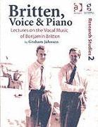 Cover-Bild zu Britten, Voice and Piano von Johnson, Graham