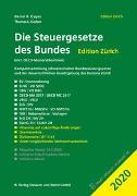 Cover-Bild zu Die Steuergesetze des Bundes - Edition Zürich 2020 von Gygax, Daniel R.