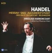 Cover-Bild zu Harnoncourt, Nikolaus: Messias/Saul/Belshazzar/+